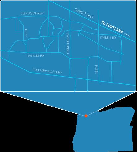 Intel Jones Farm Campus Map.Explore Intel Oregon Campuses