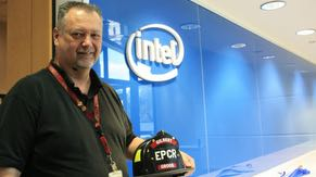 Chandler software engineer Pat Grogg worked with the Town of Gilbert Fire Dept. to create a custom tablet-based patient care records application to help first responders treat patients more quickly and effectively. Pat's work in skills-based volunteering earned him the 2013 Intel Hero Award, which is a global honor at Intel.