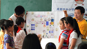 Safety Map of School Teaching for Kids