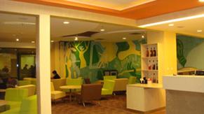 Yesteen Café at Cafeteria