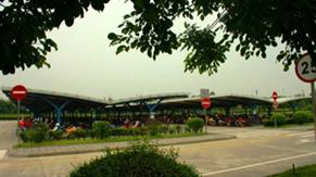 Motorbike parking lot