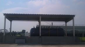 Diesel tank station