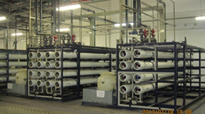 RO system: supply RO water