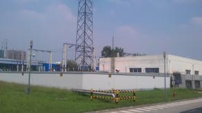 Power intake station