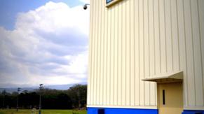 Vista externa del edificio CR2