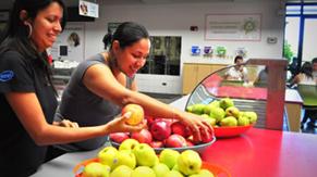 Programa de frutas gratis para empleados