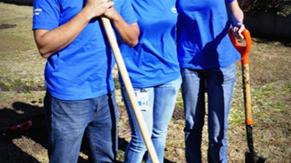 Voluntariado en el día mundial del agua: siembra de árboles