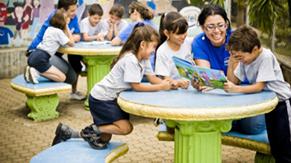 Talleres de lecto-escritura en escuelas de Belén