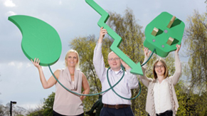 'Reduce our Energy', a local community initiative to help schools and businesses in the Leixlip area save energy and costs.