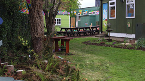 Intel sponsored garden at San Carlo National School Leixlip County Kildare