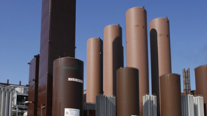 Air Separation Unit. Separates atmospheric air into its primary components
