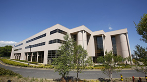 Side view of IR6. Office Building