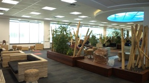 Sitting Area In The Office Building