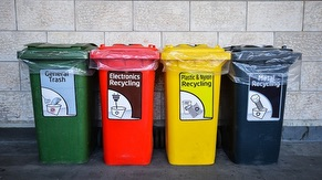 Solid Waste Recycling Bins