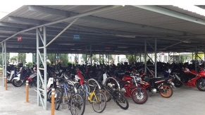 KM Bike Parking Area