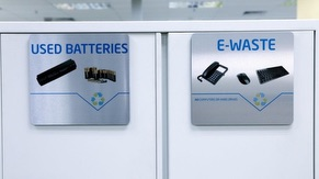 eWaste & Used Batteries Recycling Station
