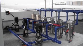 KM2 Rain Water Harvesting System Pumps & Filters System