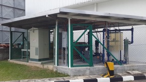 KM5 Treated Industrial Effluent Monitoring Station & Reclaim System