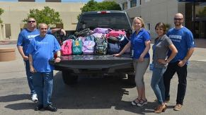 Rio Rancho Public Schools Backpack Drive 2019