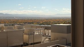 Rooftop view from Fab 11X overlooking CUB and cooling towers.