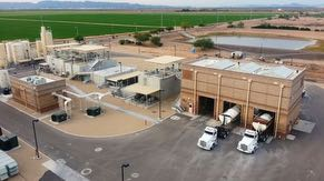 The Ocotillo Brine Reduction Facility, owned and operated by the City of Chandler, supports Intel's efforts to conserve and recycle water.