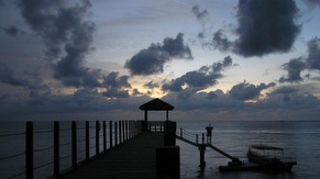 Jetty Evening View at Penang National Park