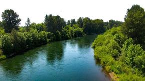 Intel has a long-standing commitment to environmental sustainability. Most recently, we funded several community-based projects in partnership with local nonprofits to restore water back to the local watershed – like this one in the Willamette River Basin at Bowers Rock State Park.