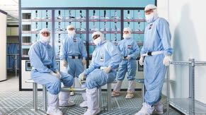 Cleanrooms, which are used for chip manufacturing, are thousands of times cleaner than hospital operating rooms.