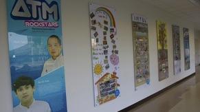 Hallway at ATM Building