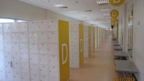 Locker area