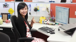 Smile at Cubicle