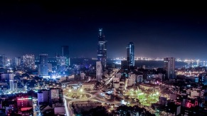 Hochiminh City Night view