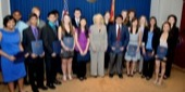 Twenty-two students from Arizona qualified to compete at Intel ISEF 2013, and were recognized for their achievements by Governor Jan Brewer.