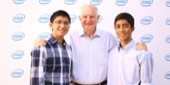 At the recognition event, students had the opportunity to meet former Intel CEO and Arizona resident, Dr. Craig Barrett.